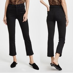 MOTHER High-Rise Insider Crop Cropped Flare Jeans